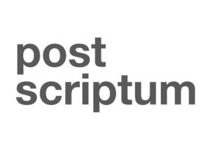 Λογότυπο της PostScriptum